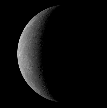 Mercury From 27,000 km