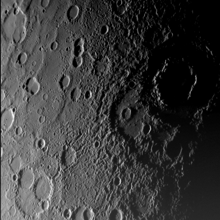 Mercury From 18,000 km
