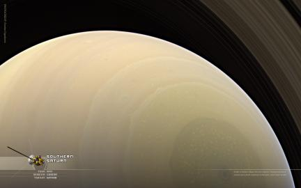 Wallpaper: Southern Saturn