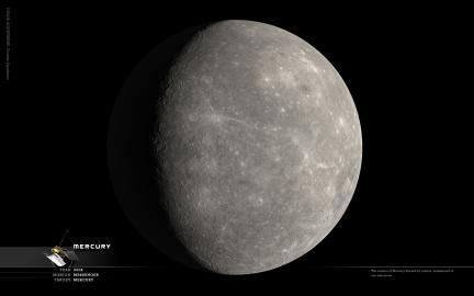 Wallpaper: Mercury Portrait Updated Jan 2008