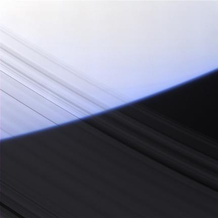 Saturn's Transparent Rings