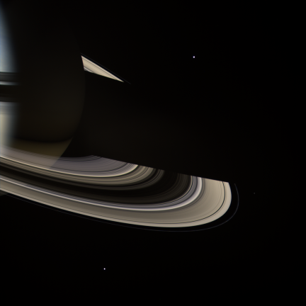 Dark Side of the Gas Giant