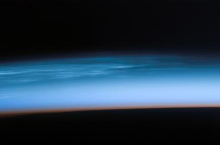 Earth's Atmosphere at the Edge of Space