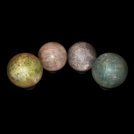 Moons of Jupiter Desktop Globes
