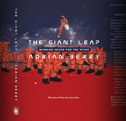 Giant Leap Dustcover from Tor Books