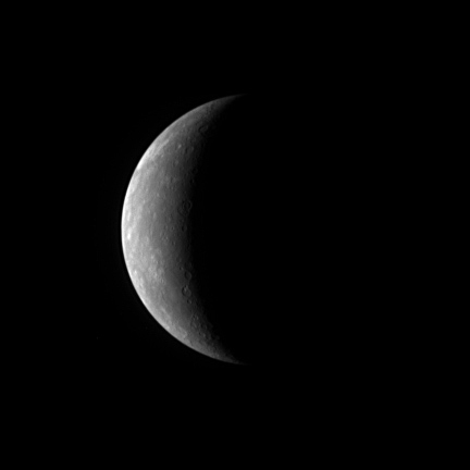 Messenger Approching Mercury Jan 15 2008