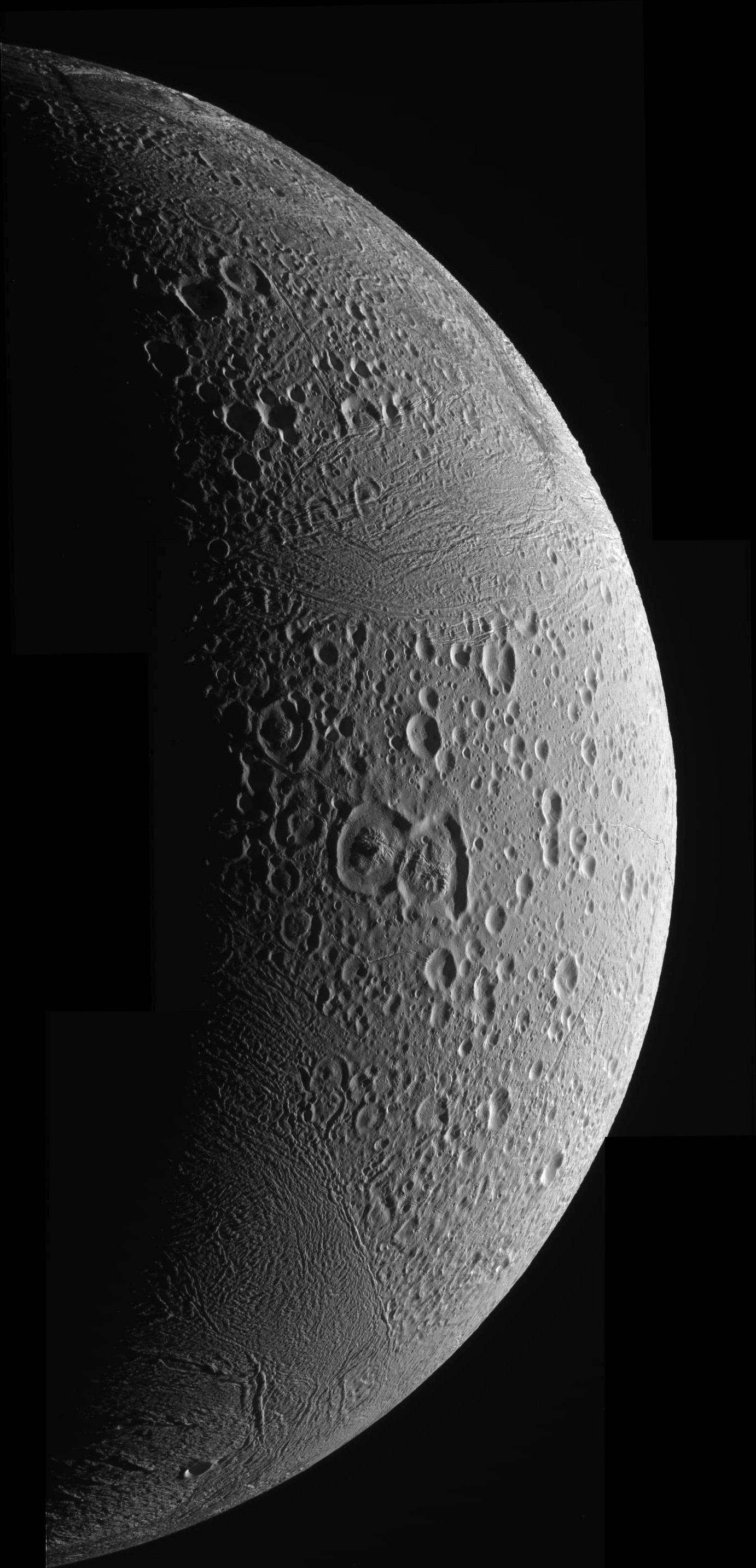 Enceladus March 12, 2008 - Mosaic #1