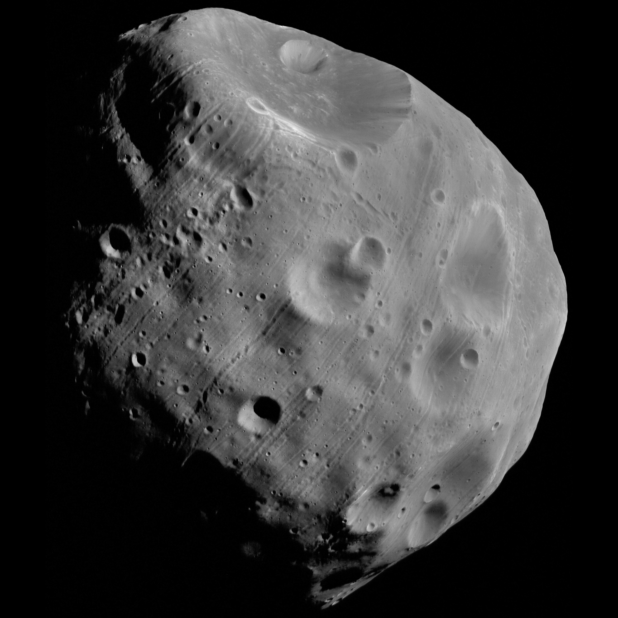 Phobos from Mars Express orbit 7