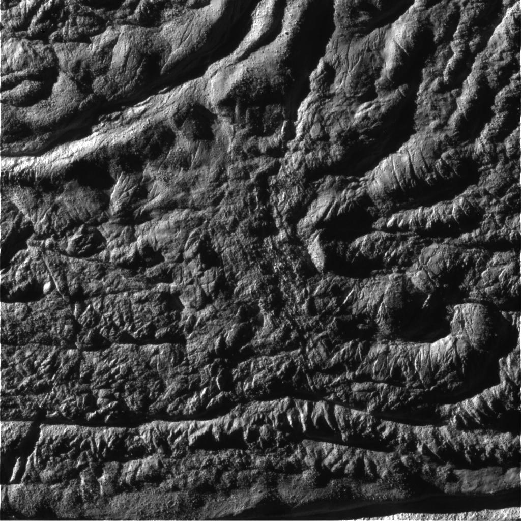 Enceladus from 2621 km