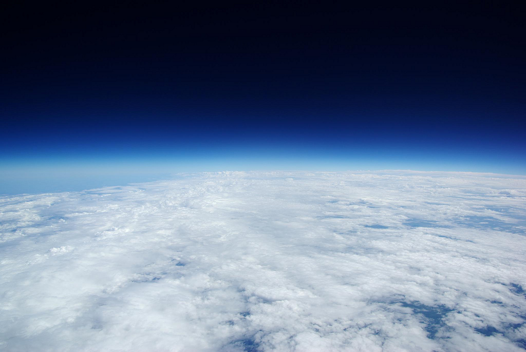Pentax k10d from High Altitude Balloon