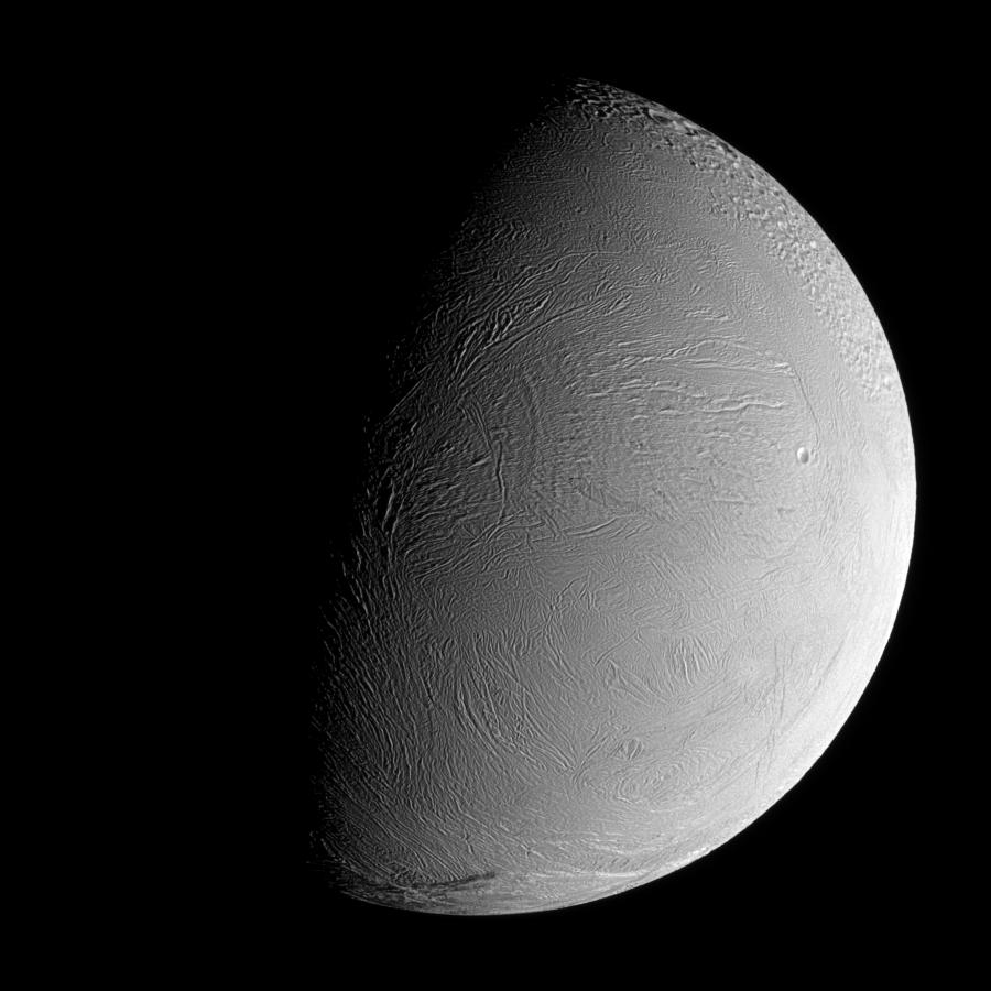 Enceladus View from the South