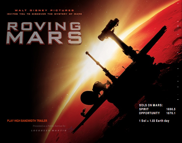 Roving Mars IMAX Movie