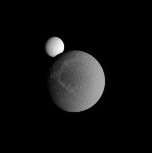 On the Way to Enceladus