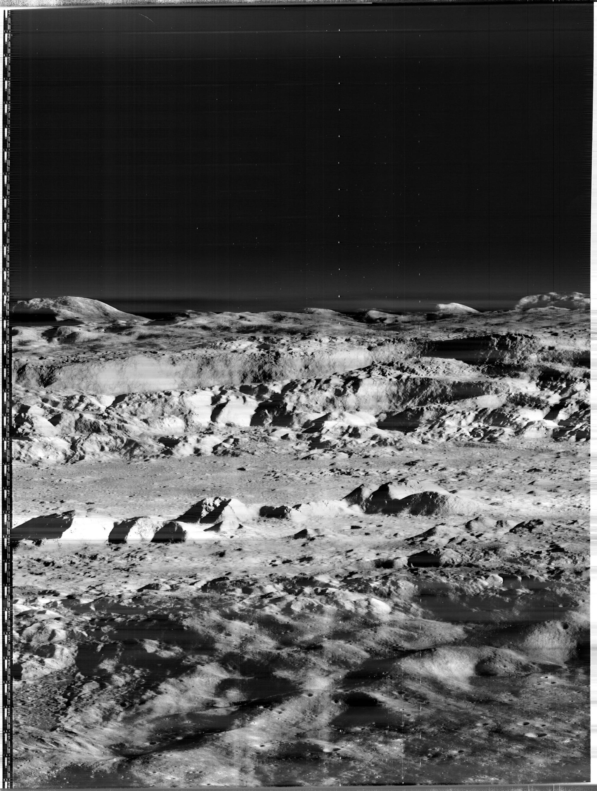 Original Lunar Orbiter Image