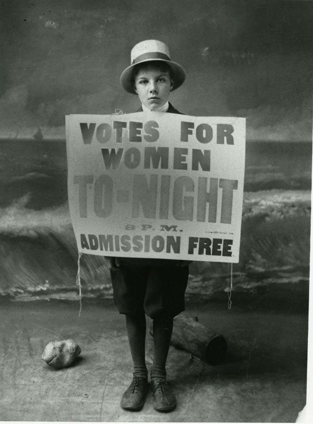 Women suffrage working to get the vote, 1912.   Photo Courtesy : Oregon Historical Society by Oregon State University, via Flickr