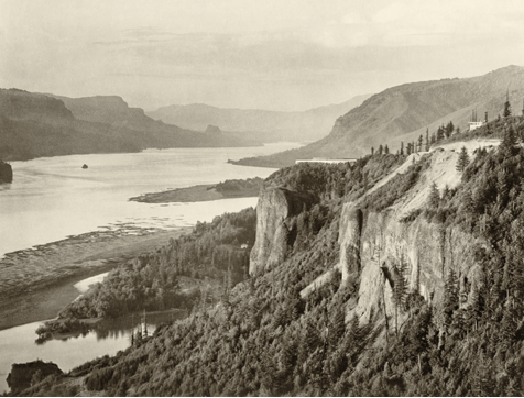 Vista Point along the Columbia River Gorge