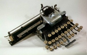 Abigail's typewriter,  courtesy of the Oregon Historical Society Museum