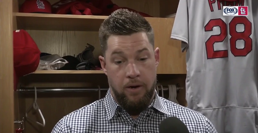 may 12, 2018 - FOXSPORTS  Bud Norris on his shutdown inning against the Padres