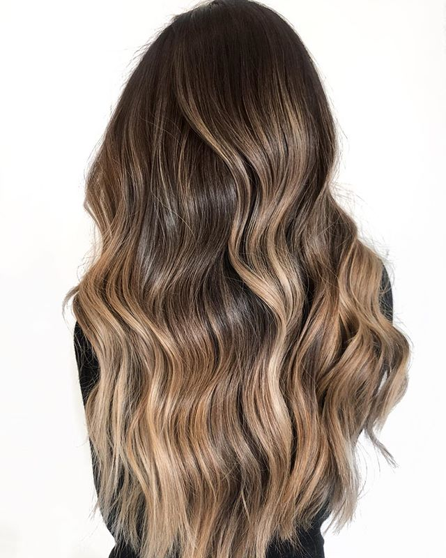 G I S E L A ✨ Balayage isolated in foils for a little more lift and little more contrast (which also means extra time + extra product) . While my go-to is open air painting for a soft, seamless finish, foils are definitely the move when you're wanting to lift past level 8 on a natural level 3-4. Be sure to explain why this process and technique requires extra steps, time, and materials - super important when building that trust! . P A I N T - @oligo Extra Blonde + 20 vol B R U S H - @framar powerpaint  G L O S S - @redken SEQ F I N I S H - @moroccanoil blowdry concentrate and oil treatment (my faaave for a smooth glossy finish) . @behindthechair_com #thebtcteam @moroccanoilpro @moroccanoil #arganeveryday #moprofessional #moacademynyc #behindthechair
