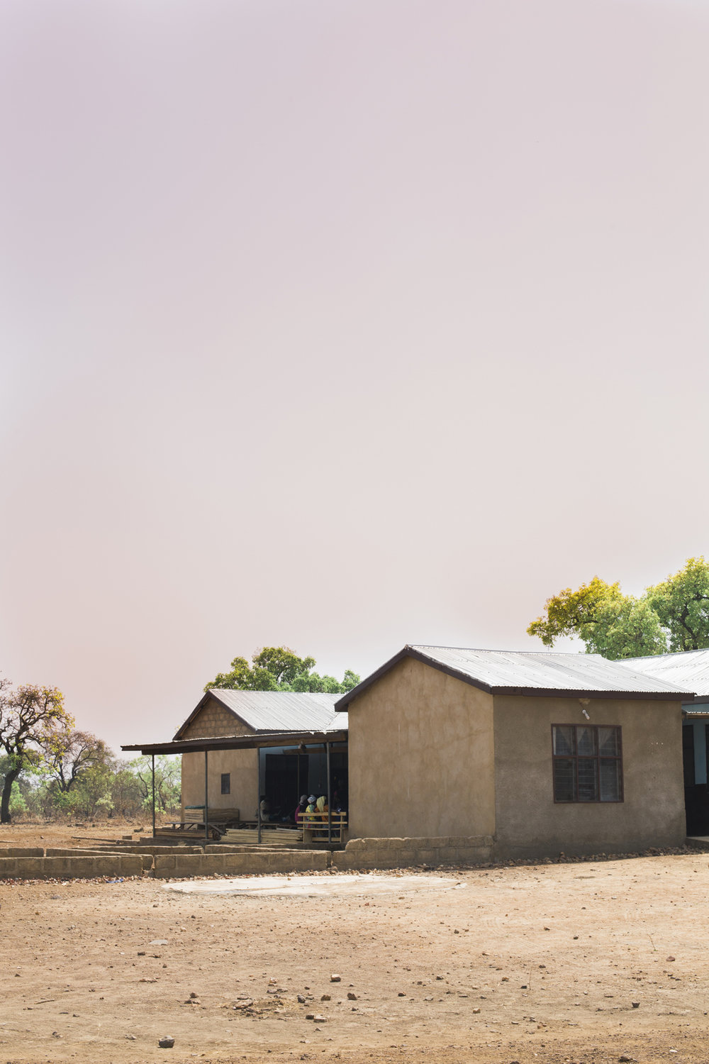Completed in 2014, the medical clinic gave everyone in the community ease of access to healthcare, instead of traveling far distances to reach medical care.
