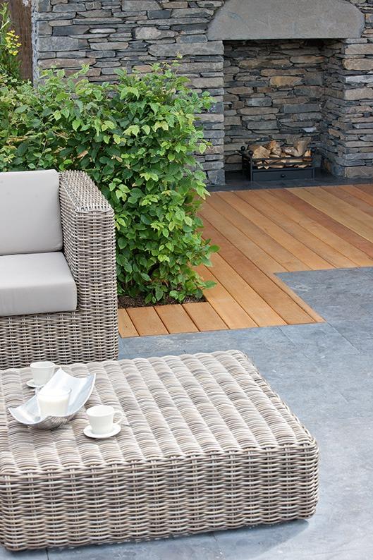Carpinus urban formal suburban garden outdoor living