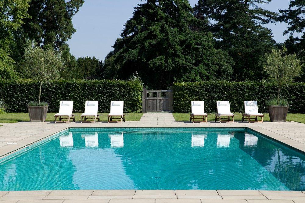 Fagus formal modern design estate Pool