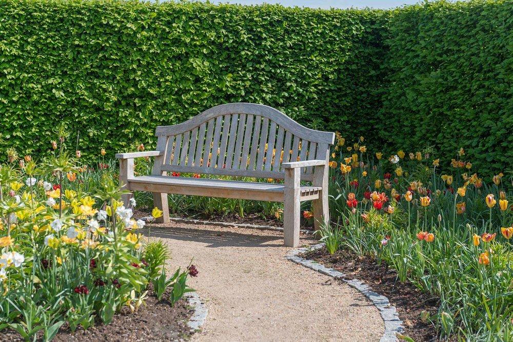 Fagus park estate garden spring