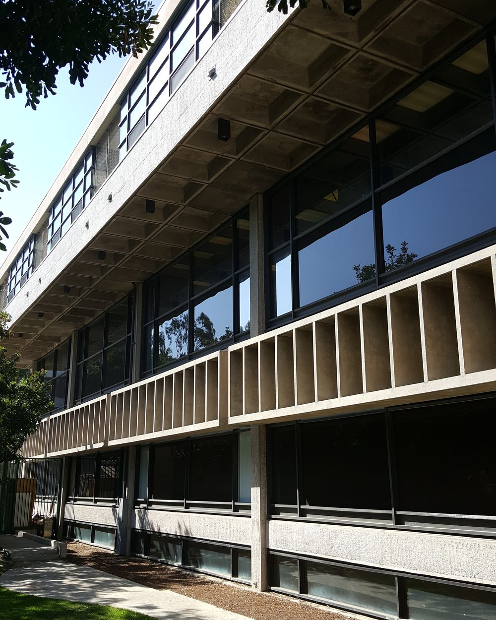 Watt Hall (Samuel T. Hurst with Killingsworth, Brady & Assoc., 1974) is the third and current home of the School of Architecture at the University of Southern California.