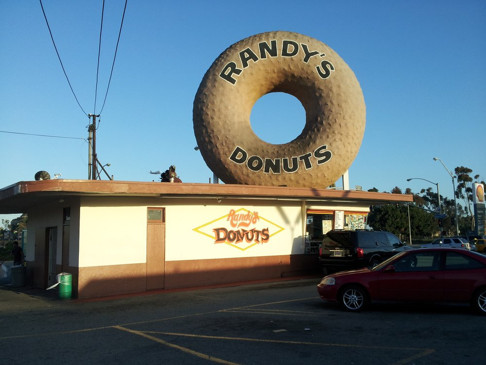 Randy's Donuts, Henry J. Goodwin, Inglewood, California, 1953.