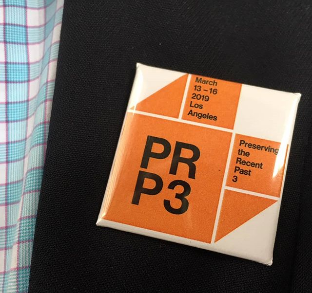 Are you at the APT conference in Buffalo? Did you get your PRP3 button yet? #prp3_2019 #APT2018