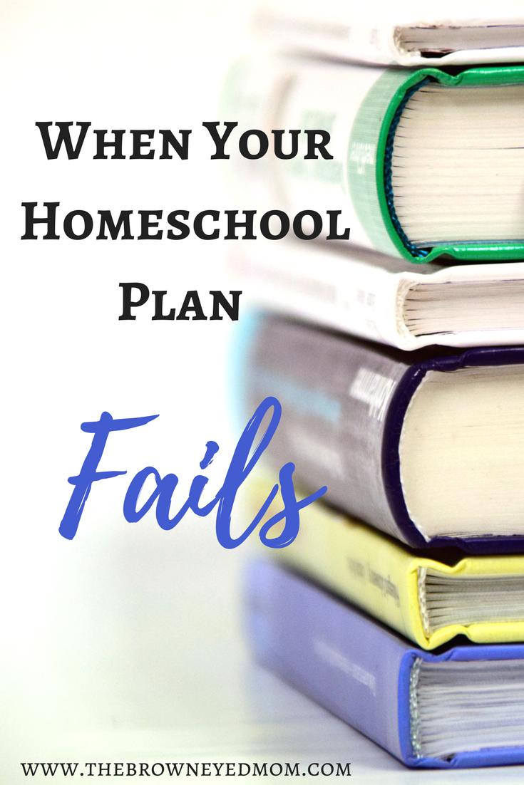 When your #homeschool plan fails