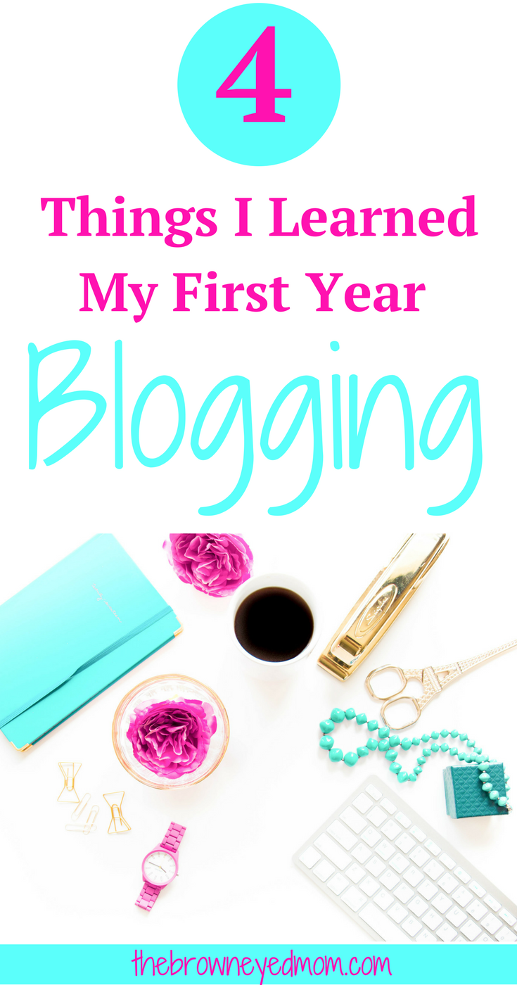 Now that I've got my first year blogging under my belt, I'm going to share with you things I've learned and advice/tips I have for new bloggers. It's been a great year blogging and I can't wait to see what the next year of blogging holds! Thanks for joining in on my blogging adventure! #momblog #blogging #momboss