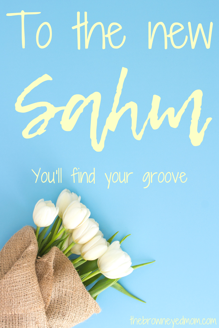 Becoming a new SAHM can be challenging. You've gone from working mom to stay at home mom and you feel like you don't know what you are doing. Don't fret, mama. You will find your groove! #sahm #newmom