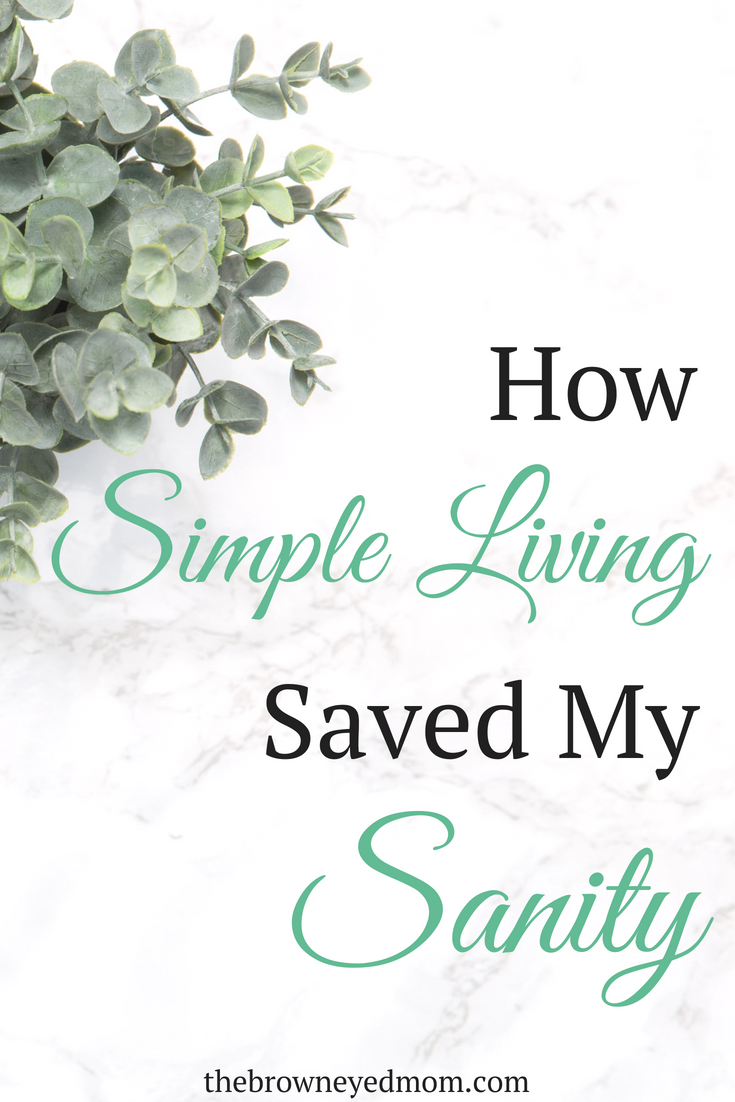 Simple living has been life changing for our family. Not constantly worrying about people coming over and seeing the mess has been amazing. #minimalism #simpleliving