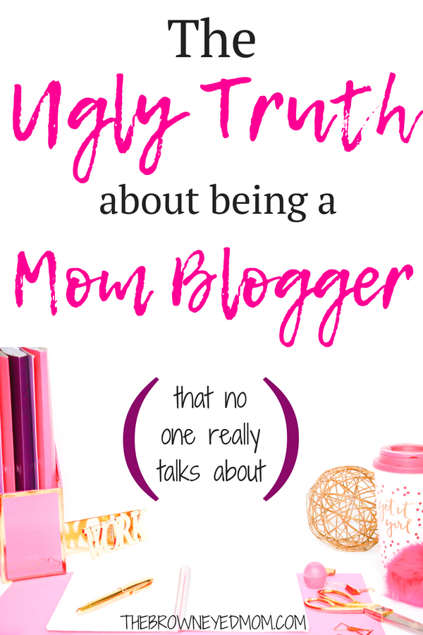 Being a mom blogger isn't as easy as some would make it out to be. There's so much work that goes into it for what seems like little to no gain. But let's talk about why it's so hard and get past all the smoke and mirrors bigger bloggers can sometimes put up for us. #momblog #momblogger #wahm #sahm #momboss #affiliatemarketing #blogging #pinterest