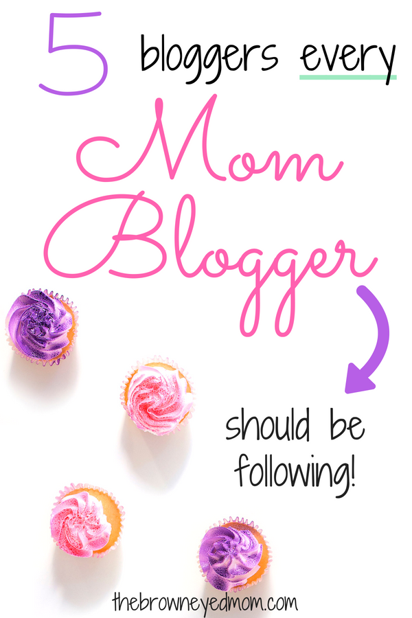 Mom blogging is hard! We all need help learning the ropes and these 5 bloggers are essential to follow for mom bloggers wanting to start and grow their blogs! #momblog #startamomblog #blogging #sahm #wahm #momboss