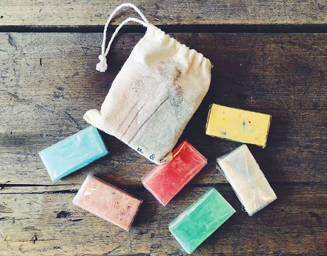 Camping season is just around the corner and these travel size soaps would be perfect for your adventure! Only at Field & Flower🌻 #fieldandflower #soap #camping #summer #travel #travelsize #adventure #explore #fun #shoplocal #supportsmallbusiness #porthope  #northumberland #artisan #handmade