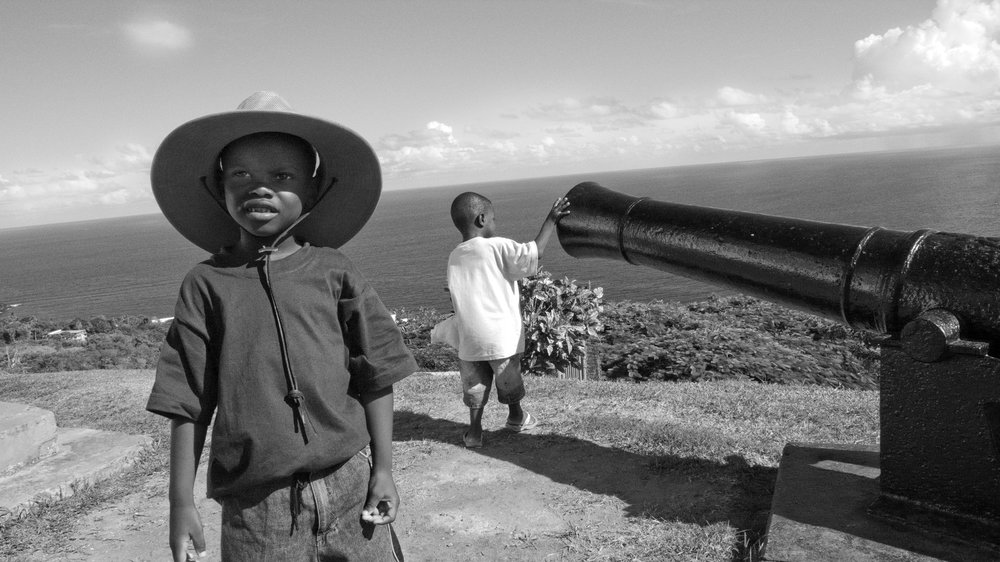 Boys with Cannon
