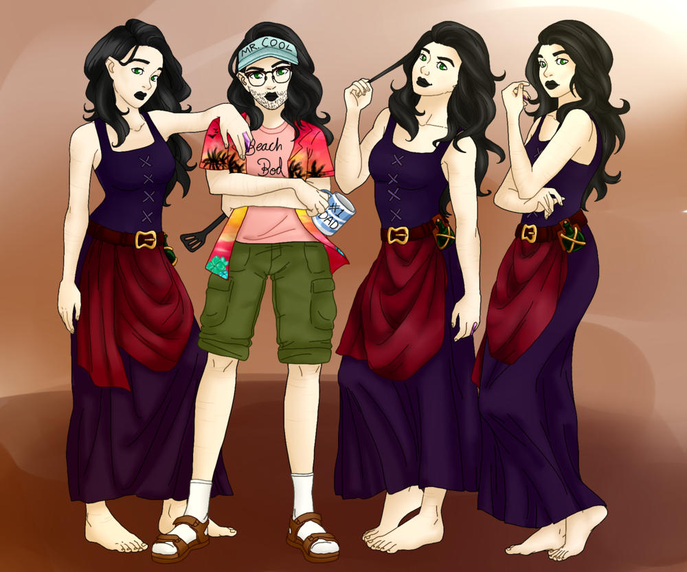 The Adelaides and Dad-elaide by Emily Collier