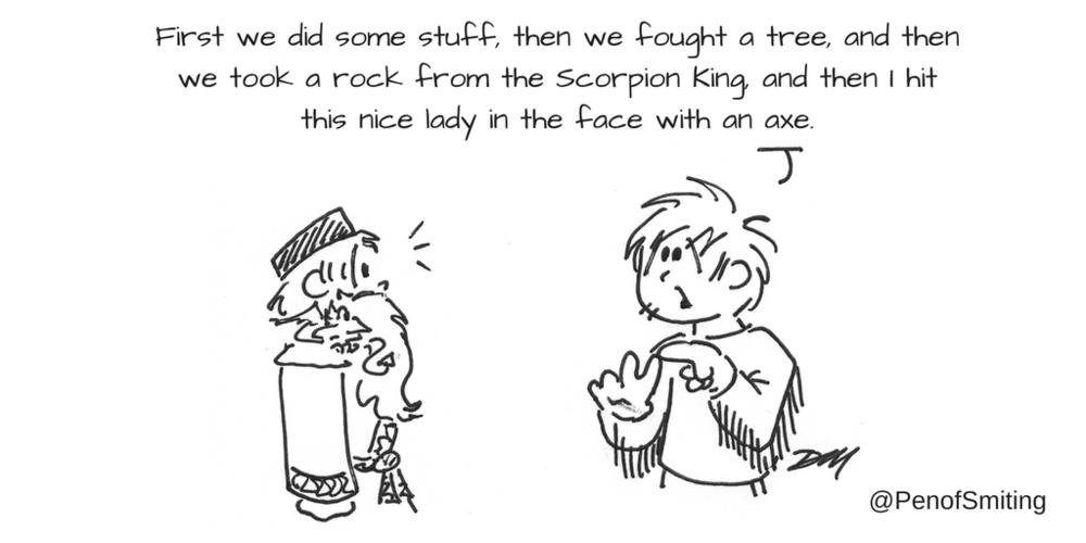 'Guy Explains' by Pen of Smiting