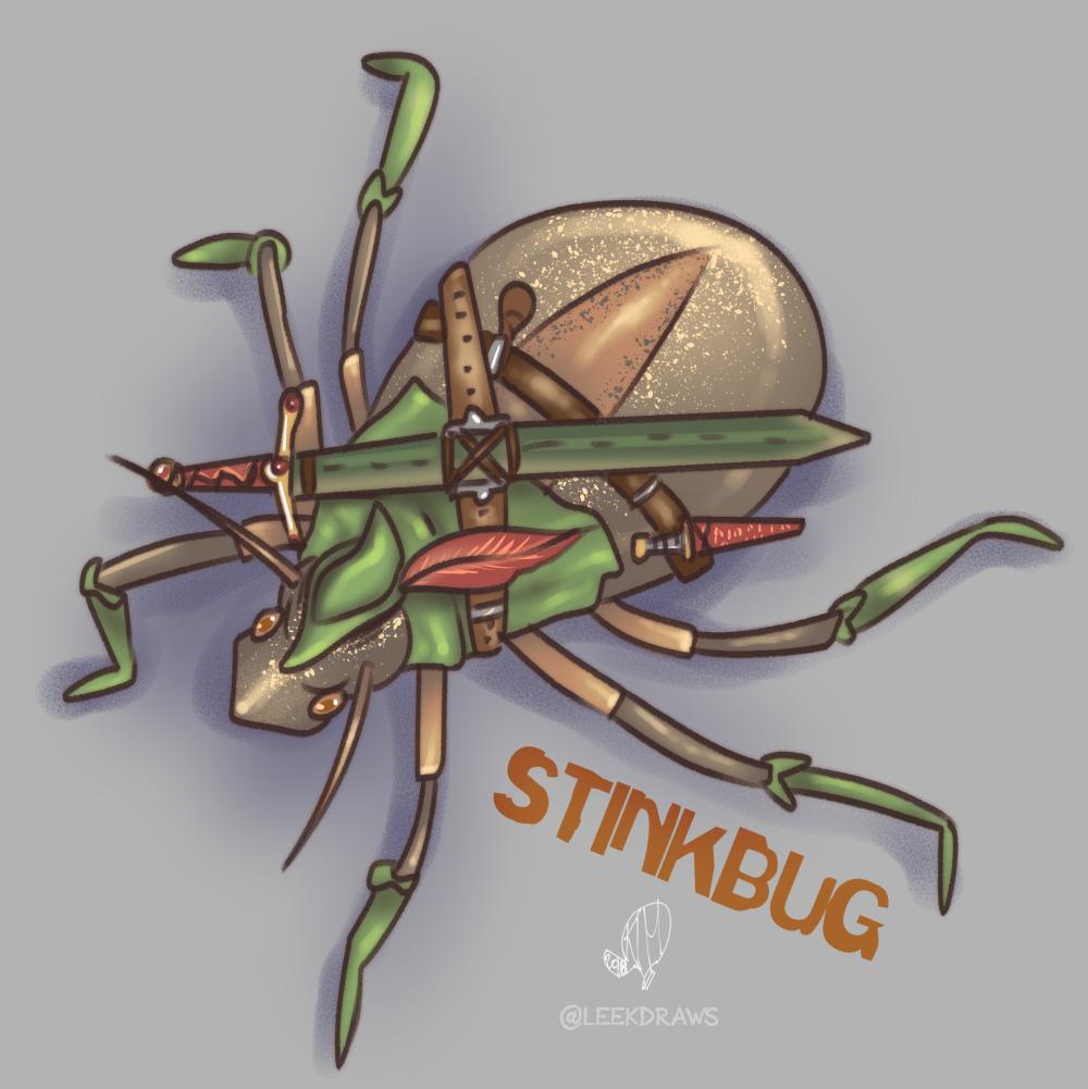 Stink Bug by Kim Leek