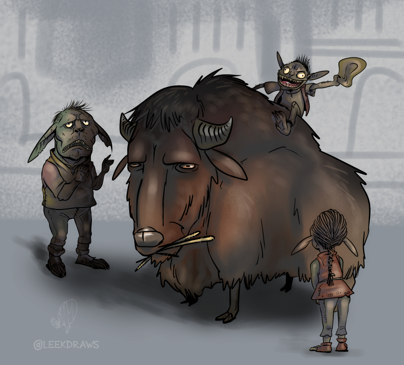 Sensible Goblins by Kim leek