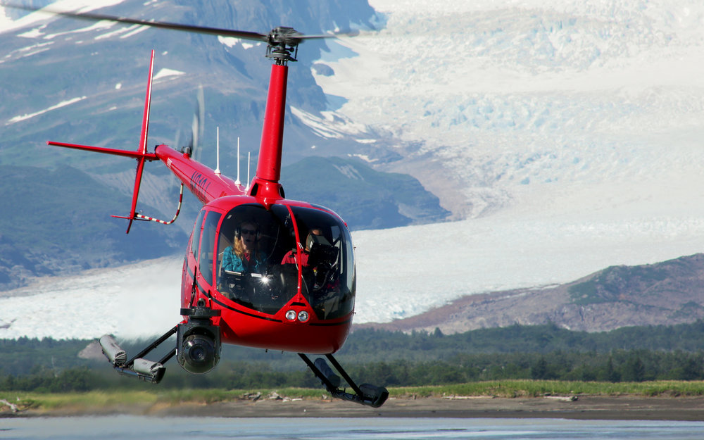 R66 helicopter for Alaska aerial video capture - Zatzworks Aerial Video