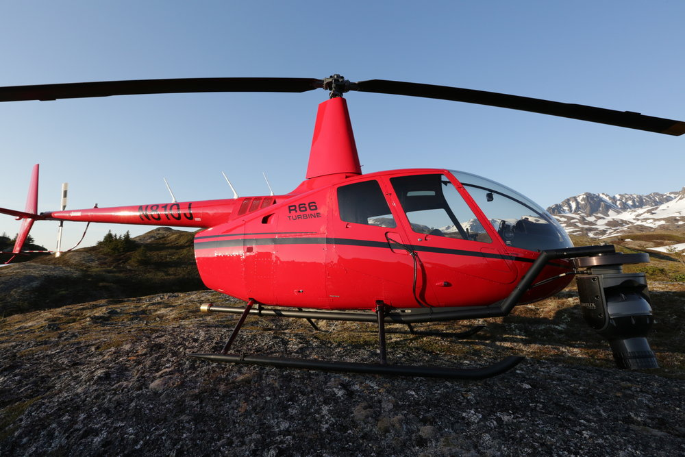 R66 Helicopter for aerial video capture - - Zatzworks Aerial Video