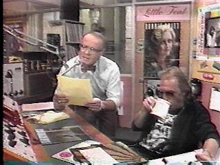 More music and Les Nessman.