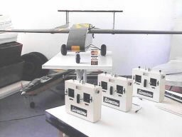Silvertone Observatine UAV with a batch of high power Mark 22 Military specification Transmitters.