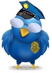 police, social media, spiderweb connections