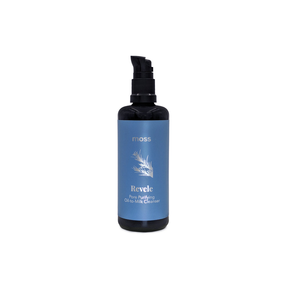 Revele Emulsifying Oil Cleanser • $75   Emulsifying Oil  Oil-to-milk cleanser easily takes off makeup and sunscreen. Favorite 1st step for double cleanse lovers.