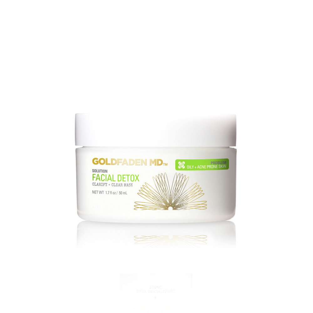 Facial Detox • $65   Best for most  0.5% salicylic in clay mask, for blemish-prone.