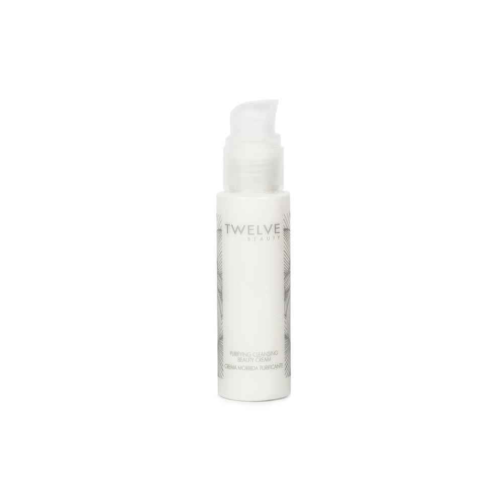 Purifying Cleansing Cream • $36   Cream Cleanser  Light cream with barely-there floral scent. Works well for normal, combo and dry skin types.